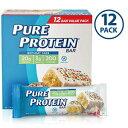 Pure Protein Bars, Birthday Cake, 1.76oz, 12 Pack