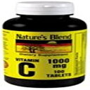 Nature's Blend Vitamin C 1000 mg 100 Tablets