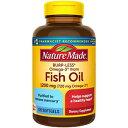 ショッピングオメガ Nature Made Burp-Less Fish Oil 1200 mg One Per Day, 120 Softgels, Fish Oil Omega 3 Supplement For Heart Health