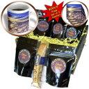 3dRoseアラスカサンセットコーヒーギフトバスケット、マルチ 3dRose an Alaskan Sunset Coffee Gift Basket, Multi