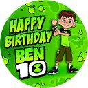 7.5インチの食用ケーキトッパー–ベン10をテーマにした食用ケーキデコレーションのバースデーパーティーコレクション Happy Choices 7.5 Inch Edible Cake Toppers – Ben 10 Themed Birthday Party Collection of Edible Cake Decorations