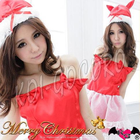 コスプレ猫耳サンタレディースサンタクローストナカイドレスコスチュームクリスマス