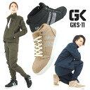 送料無料 安全靴 ミドルカットタイプ 麻布風 通気性 3E 現場 作業 軽作業 GLOW KICKS グローキックス ケイゾック GKS-11