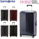 【GWもあす楽】サムソナイト Samsonite スーツケース 98L 軽量 ライトボックス スピナー 75cm 79300 Lite-Box SPINNER 75/28 キャリーバッグ あす楽