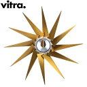 【最大3%OFFクーポン 2/24まで】Vitra ヴィトラ Wall Clocks ウォール クロック 壁掛け 時計 Turbine Clock Brass/Aluminum ブラス×アルミニウム 201 255 05