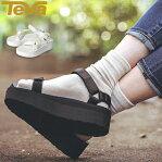 送料無料TEVA テバ FOOTWEAR フットウェア W FLATFORM UNIVERSAL フラットフォームユニバーサル 1008844 ウィメンズ 厚底 サンダル アウトドア