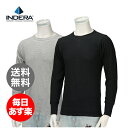 Indera Mills インデラミルズ MEN'S Long Sleeve メンズ ロングスリーブ Tシャツ Heavyweight Thermals ヘビーウェイト サーマル 839LS 保温下着
