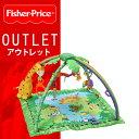 【アウトレットセール 】FisherPrice (Fisher Price フィッシャープライス) レインフォレスト 【melodies & lights deluxe gym】 レインフォレスト デラックスジム FP9-0001-000