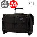 トゥミ Tumi キャリケース キャリーバッグ 24L 4輪 キャリーオン・4ウィール・ガーメントバッグ 022038D2 ブラック ALPHA 2 Carry-On 4 Wheel Garment Bag Black