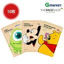 【THE FACE SHOP】【ザ フェイスショップ】ディズニー コラボ マスクシート (ディズニーシリーズ)/Disney Collaboration Mask Sheet (Disney Series)/25g/フェイスマスク/シートマスク/マスクパック/マスクシート/【楽天海外直送】