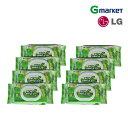 【LG生活健康】【toddien】トディアン ネーチャーグリーン ウェットティッシュ キャップ型/toddien Nature Green Wet Tissue 100枚/ウ..