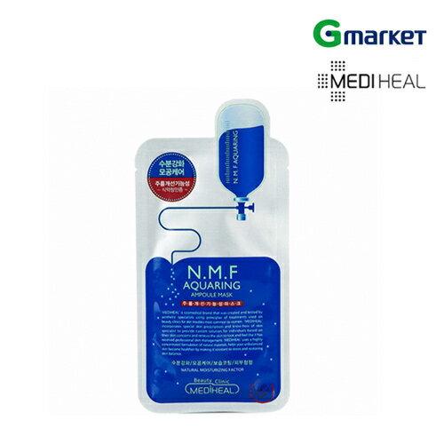 【MEDIHEAL】【メディヒール】N.M.Fアクアリング・マスク/N.M.F Aquaring Mask/27ml/フェイスマスク/シートマスク/マスクパック/マスクシート/シートパック【楽天海外直送】