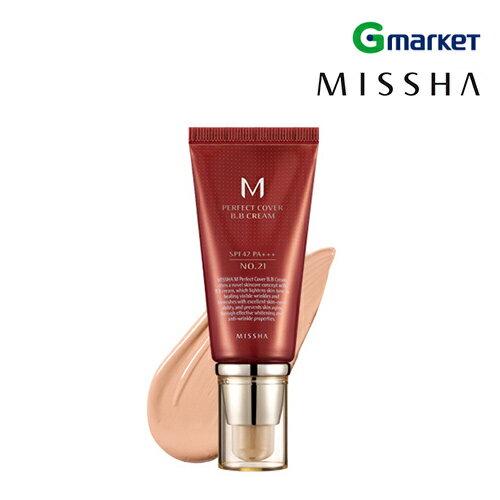 【MISSHA】【ミシャ】パーフェクトカバーBBクリーム (SPF42/PA+++)/50ml/潤った肌/ハリのある肌/メイクアップ/ベース/カバー【楽天海外直送】