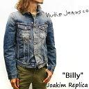 NUDIE JEANS : ヌーディージーンズ BILLY  DENIM JACKET ビリー 47161-5025 ジャケット Gジャン セルヴィッジ セルビッジ