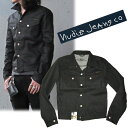[by review entry ★】 NUDIE JEANS during the 1,000 yen OFF campaign enforcement:] It is black [DRY BLACK COATED] nudie jeans /Nudie Jeans denim jacket CONNY (coney)