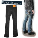 [by review entry 460 ★】 NUDIE JEANS (nudie jeans) SLIM JIM (slim gym )Dry Black Coated () SLIMJIM during the 1,000 yen OFF campaign enforcement]