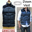 ☆DOWN VEST / NYLON (2016AW)【 神戸正規 】ボア無し☆ Rocky Mountain Featherbed ロッキーマウンテンフェザー...