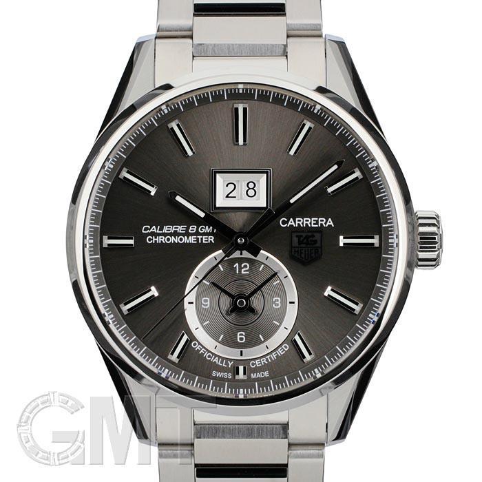 【新品】TAG HEUER タグ・ホイヤー カレラ グランドデイト GMT WAR5012.BA0723 グレー