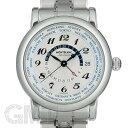 モンブラン スター ワールドタイム GMT シルバー 109286 MONTBLANC 新品メンズ 腕時計 送料無料