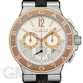 BVLGARI ブルガリ ディアゴノ カリブロ303 クロノグラフ DG42C6SPGLDCH 【新品】 【腕時計】【メンズ】 【送料無料】 【あす楽_年中無休】