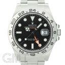 ロレックス エクスプローラー II 216570 ブラック G番 ROLEX 中古メンズ 腕時計 送料無料
