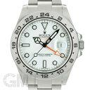 ロレックス エクスプローラーII 216570 ホワイト G番 ROLEX 中古メンズ 腕時計 送料無料