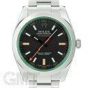 ロレックス ミルガウス 116400GV ブラック V番 ROLEX 中古メンズ 腕時計 送料無料