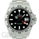 ロレックス エクスプローラー II 216570 ブラック ランダムシリアル ROLEX 中古メンズ 腕時計 送料無料