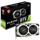 【新品】MSI GeForce RTX 2060 VENTUS GP OC [PCIExp 6GB]