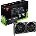 【新品】MSI GeForce RTX 3060 VENTUS 2X 12G OC [PCIExp 12GB]