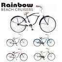 RAINBOW BEACHCRUISER/レインボービーチクルーザー PCH101 26MENS 26 x 2.5 自転車 26インチ メンズ / IRONMAN / NAVY x PEARLWHITE / ..