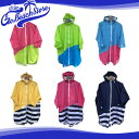 PORD Kids Rainwear PONCHO / ポードキッズレインウェア 子供用レインポンチョ ジュニア 110/130 パッカブル収納袋付き レインコート ..