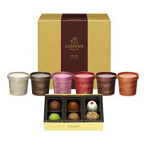 【送料込】ゴディバ (GODIVA) カップアイス&トリュフ 7個