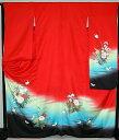 ショッピング衣装 【レンタル】振袖レンタル【赤・ピンク・赤紫系】【RF749】標準/L寸/7号/9号/11号/13号/秋のキャンペーン