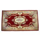ウールの手織りカーペットです。AWJ510天津フック緞通RE3帖 152x234