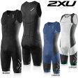 2XU メンズ Elite Compression Trisuit(エリート コンプレッション トライスーツ) トライアスロン用スーツ【返品交換不可】