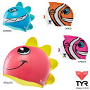 ショッピング水泳帽 TYR(ティア) 可愛いキッズ用スイムキャップ
