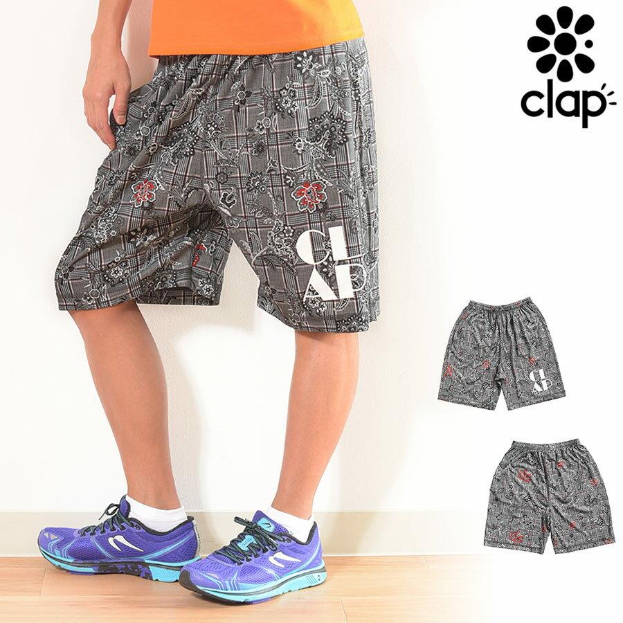 CLAP(クラップ) ハーフパンツ ペイズリーチェック(P-CHECK)