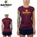SAYSKY(セイスカイ) レディース WMNS SS TEE Tシャツ(ランニングシャツ)【返品交換不可】