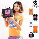 CLAP(クラップ) STRETCH TEE + mini tote (ストレッチTシャツ+ミニトートセット)