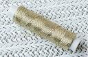 手縫い糸/刺繍糸 金イエローゴールド (50m巻)