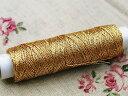 手縫い糸/刺繍糸 金 (50m巻)