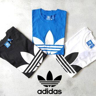 adidas originals adidas originals ADI TREFOIL TEE trefoil trefoil short sleeve tee shirt (mens and Womens)--