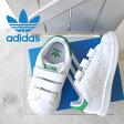 adidas アディダス ベルクロ スタンスミス STAN SMITH CF M20609 キッズ ベビー 子供 オリジナルス