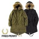 Fred Perry フレッドペリー モッズパーカー モッズコート F6230 リアルファー (レディース)