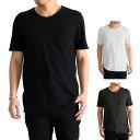 [TIME SALE] GIORGIO BRATO ジョルジオブラット ラウンドネック Tシャツ TX602 (メンズ)