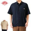 DANTON ダントン ワークシャツ ワイドシャツ JD-3609 MSA ボックス 半袖 (メンズ)