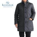 LAVENHAM ラベンハム フード付き キルティングコート グリンステッド GRINSTEAD キルティングジャケット (メンズ)