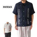 HAVERSACK ハバーサック キューバシャツ 821932 オープンカラーシャツ (メンズ)