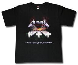 バンドtシャツ <strong>メタリカ</strong> Metallica Tシャツ ロックtシャツ ロック ファッション ROCK BAND T-SHIRTS ヘビメタ ヘヴィメタル Tシャツ メンズ レディース キッズ ユニセックス メール便OK 激安 特価 おすすめ ワンオク TAKA